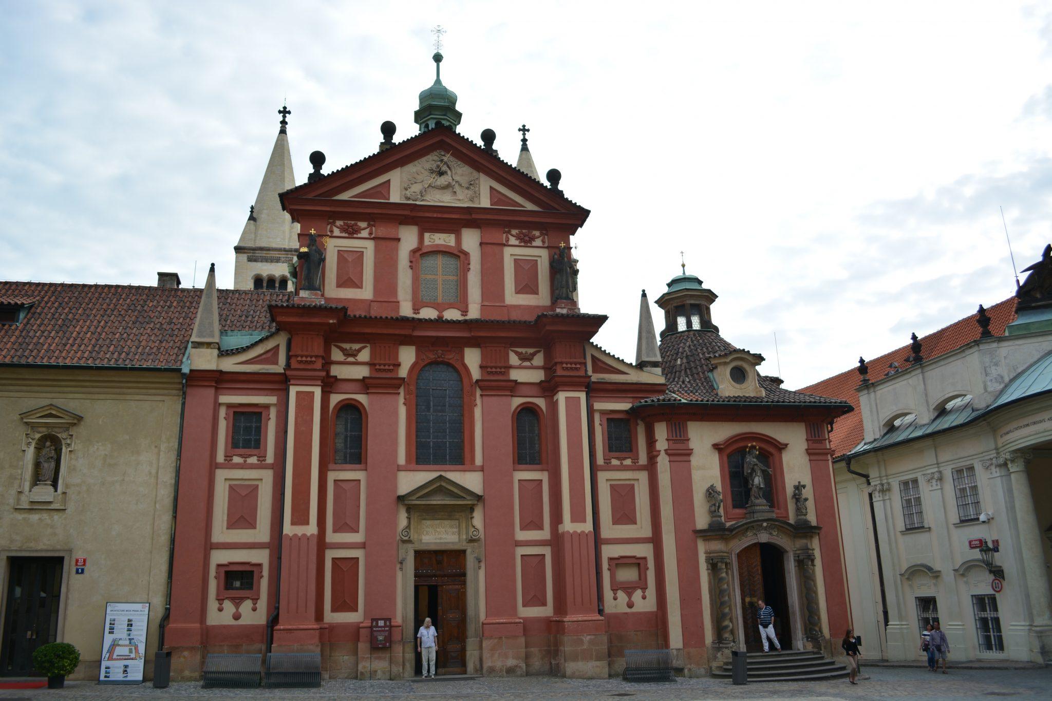 Prague Castle- very famous tourist attraction!
