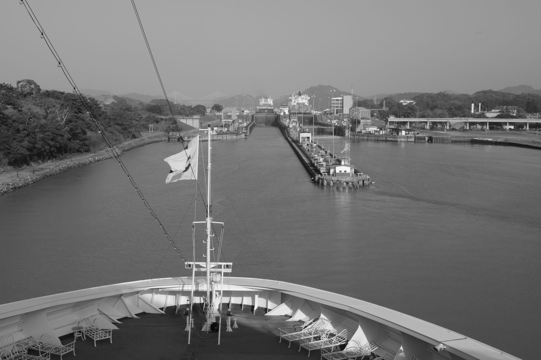 Panama Canal- Holiday Cruise 2015