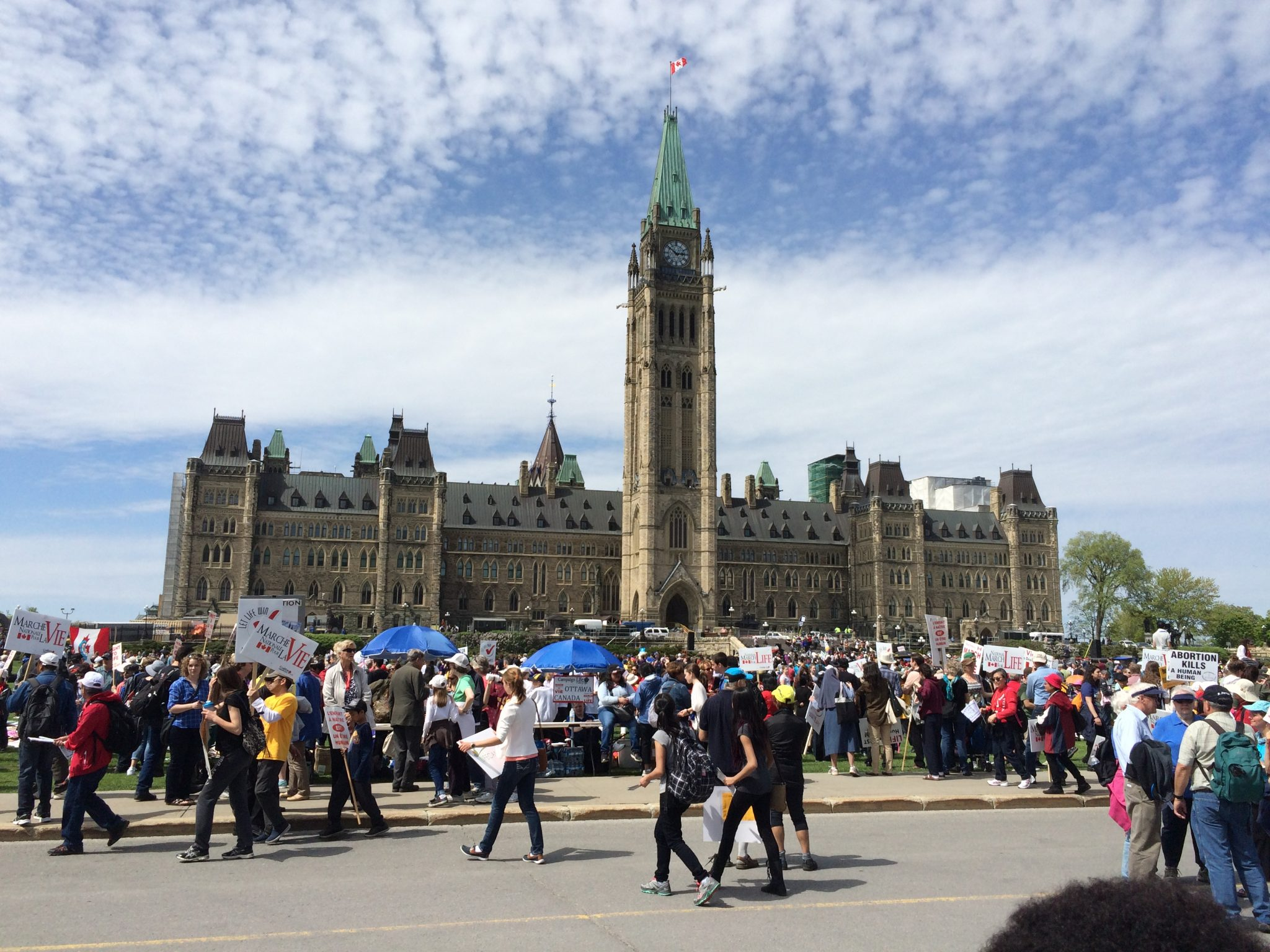 March for Life- Ottawa, Canada