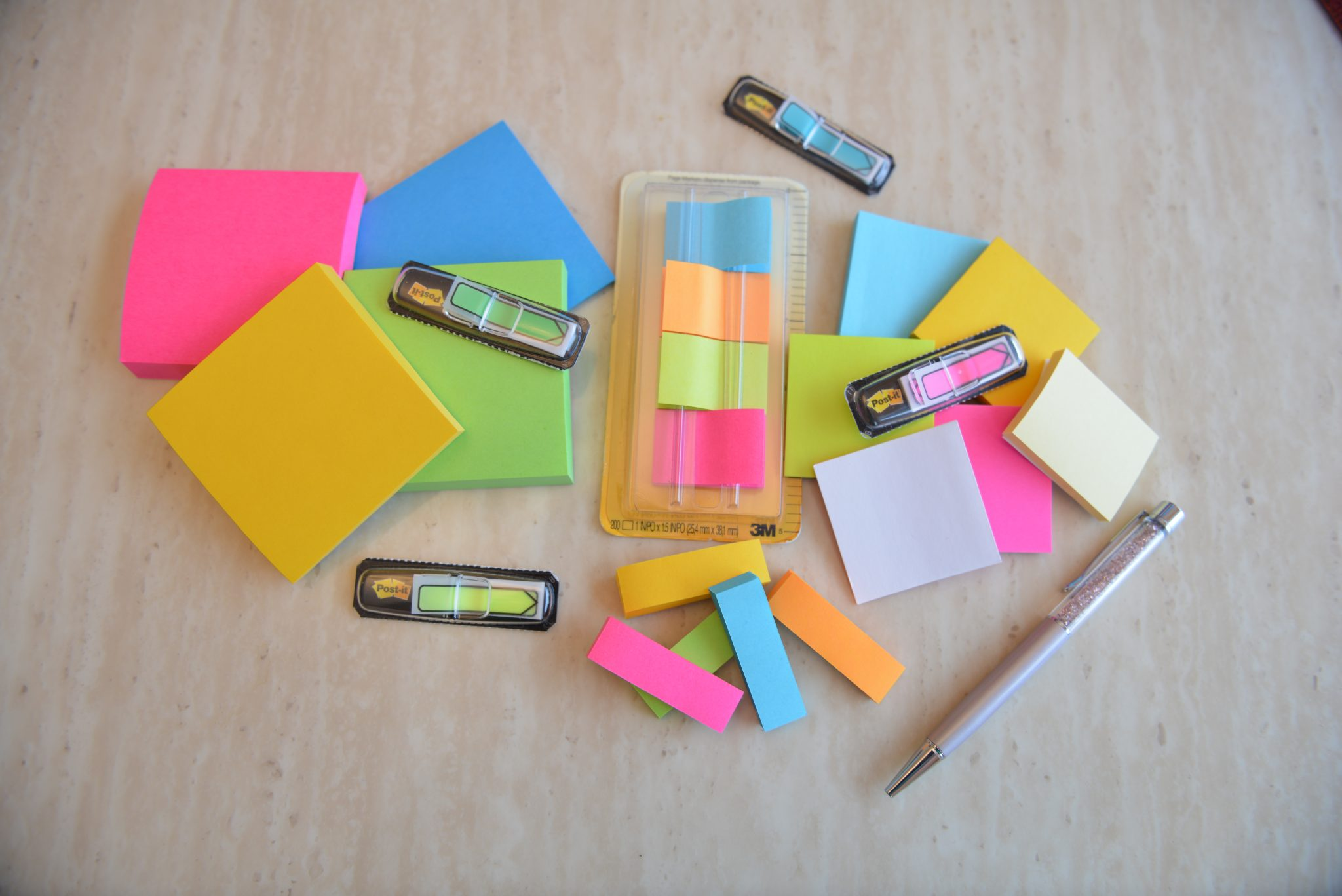 My Favourite Ways to use Sticky Notes